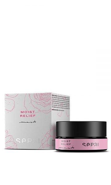 Rose mistletoe gel mask